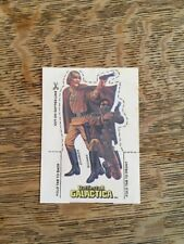 Vintage Battlestar Galactica Cereal Premium Card Cutout 3D Stand Up Characters