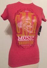 CMA Country Music Festival 2015 Nashville TN Women's Souvenir Tee T-shirt Small