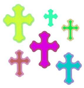 Sizzix Framelits Crosses #662952 Retail $9.99 11pc - by Louisa Elena Guillen-K.