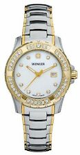 Swiss WENGER Women's 70376 Sport Two-Tone Steel Bracelet Watch MOP Dial