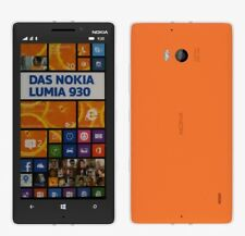 Nokia Lumia 930 in Orange Handy Dummy Attrappe - Requisit, Deko, Ausstellung