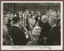 BETTE DAVIS Alt Saxophone Bebop Jazz Musician At Party ORIGINAL 1946 Photo J1107