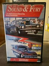 The Sound & and Fury VHS Ex-rental video tape no DVD 1988 Drag Racing Queensland