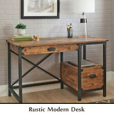 Office Desk For Men Women Rustic Farmhouse Country Table College Student Modern