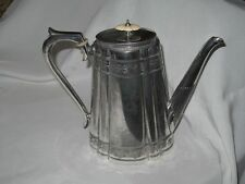 Splendido Vittoriano Argento Placcato Tea Pot benetfink & Co nel 9669