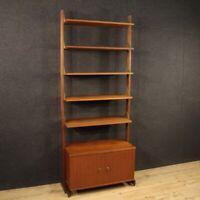 Libreria mobile credenza di design in legno vintage moderno salotto 900