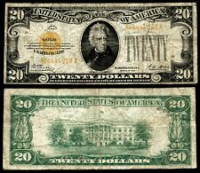 $20 1928 Gold Certificate, Very Good, See Description