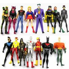 15pcs DC Universe Action Figures Young Justice Jul ARTEMIS Batgirl Superboy Toys