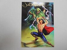 1994 Julie Bell AUTOGRAPHED Promo card P1! Demon in the Palace! NM/MN! RARE!