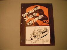 New listing Vintage Bosch Pulse-Beat Snowmobile Ignition Sales Brochure