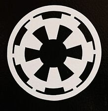 "(2) Galactic Empire Vinyl Decal Sticker star wars jdm funny 4.5"" logo symbol"