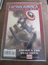Marvel Comics - Captain America one shot - Theater of war -America the beautiful