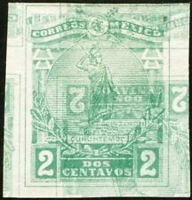 MEXICO, 1915. Cuauhtemoc 501 Imperf, Double Impression, Mint