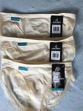 3 Pack Jockey Seam free Bikini size 8-10,12-14,16-18,women's underwear stretchy