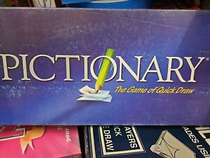 419 Pictionary Board Game Age 12+ By Mattel 2002 Complete