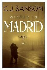 Winter in Madrid, C. J. Sansom, 9780670018482, Book, Acceptable