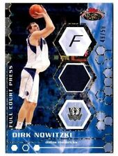 2007-08 Topps Stadium Club Full Court Press Relics Gold Dirk Nowitzki Card 49/50