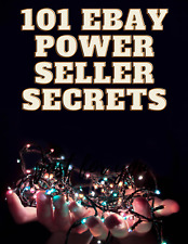 101 Ebay Power Seller Secrets Ebook Resell Rights