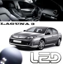 LAGUNA 3 Kit 17 Ampoules LED Blanc Veilleuses plaque Habitacle Plafonnier Coffre