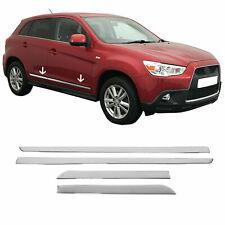 Für Mitsubishi ASX 2010-2021 Chrom Seitentürleiste Seitenleiste Edelstahl 4 tlg