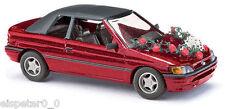 Busch 45732 Convertible de FORD ESCORT BODA, H0 vehículo modelo 1:87