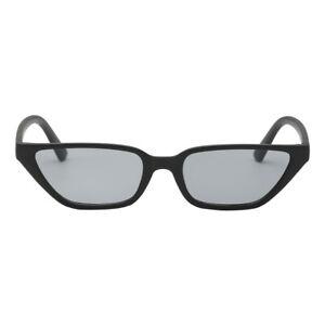 Damen Kunststoff Katzenaugen Sonnenbrille Vintage Kleine Rahmen UV400