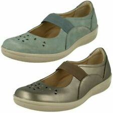 Ladies Padders Casual Flat Shoes Flare