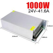 AC 110V-220V TO DC 24V 1000W Switch Power Supply Driver Adapter LED Strip Light