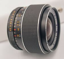 Montgomery Ward 28mm F2.8 Pentax M42 Mount Prime Lens For SLR/Mirrorless Cameras