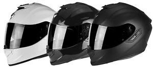 Scorpion Exo-1400 Air Solid Motorcycle Helmet Full Face Sport Crash Racing