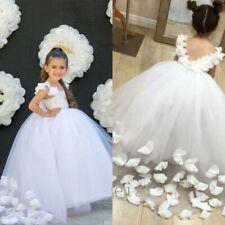 Satin Sleeveless Dresses for Girls Tutu Dress