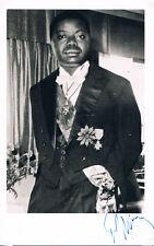 "Congo/Katanga PM/Pres. Moise Tshombe 1919-69 autograph signed 4.5""x7"" photo"