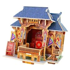 Diy Handcraft Miniature Project 3D Wooden Dolls House - Chinese Theatre