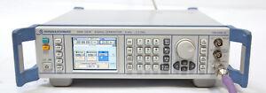 Rohde & Schwarz SMB100M SMB100A RF Signal Generator 9KHz-2.2GHz B102 K22 K23 K25
