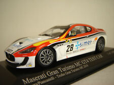 1/43 MASERATI Gran Turismo MC GT4 #28 Test Car 2010 - Minichamps M400101228