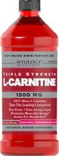 L-CARNITINE 1500mg WATERMELON HEART HEALTH ENERGY FAT METABOLISM SUPPLEMENT 16OZ
