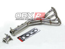 OBX Stainless Exhaust Header Manifold Fit 2003 04 2005 Honda Civic Si 2.0L K20A3