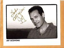 Jay Acovone-signed photo