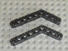 LEGO TECHNIC black beam liftarm bent ref 6629 / sets 8448 8266 8258 8273 9731 ..