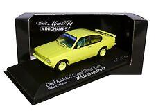 Opel Kadett C Coupe in Giftgrün Bj 1973 1:43 Minichamps 430045626 NEU & OVP