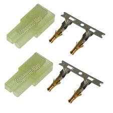 2x MINI-TAMIYA Male (Charger) connectors