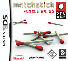 Matchstick Puzzle By DS Nintendo NDS DSi XL Brand New