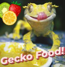 Gecko Crested Gargoyle Food Powder! Leachie Lizard Geckos Fruit Eating Reptiles!