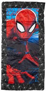 Spiderman Kids Youth Sleeping Bag Marvel Excel Brand
