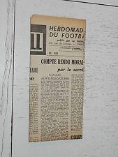 FRANCE FOOTBALL OFFICIEL HEBDOMADAIRE FFF N°388 25/08 1953
