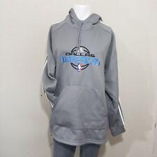 Men Adidas Nba Fusion Dallas Mavericks Hooded Sweater size XL Gray