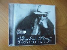 CD   GHOSTFACE KILLAH  / Shaotin`s Finest ( Rap, Hip Hop )