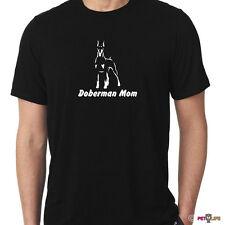 Doberman Mom Tee Shirt pincscher v2 dobie