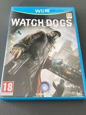 WATCH DOGS JEU NINTENDO WII U FRANCE COMPLET