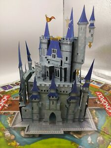 Monopoly Disney Theme Park Edition III Pieces Game Board with Pop-up Castle Only